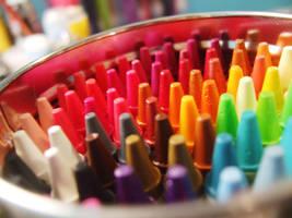 Crayons by Yasiiboobah