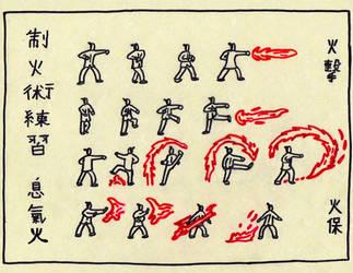 Firebending Scroll by Jeffrey-Scott