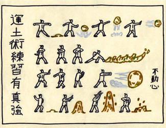 Earthbending Scroll by Jeffrey-Scott