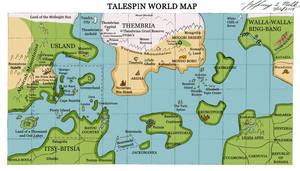 TaleSpin World Map by Jeffrey-Scott