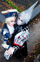 Trinity Blood - Asran and Abel by Franky-chan