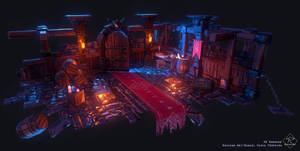 Dungeon Environment by Rakisan-Art