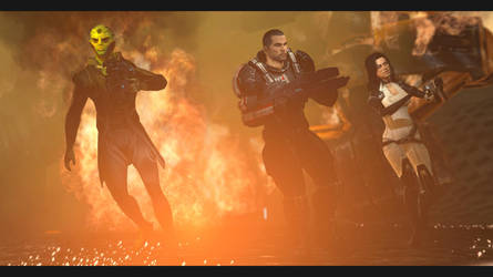Mass Effect 2, Squad members by rockcod