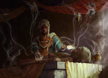 Incense Healer by Orchetto