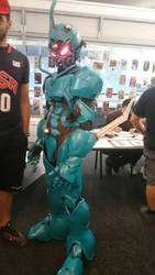 Guyver cosplayer by Perigryn7280