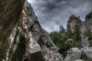 Canyon landscape by An-Drake