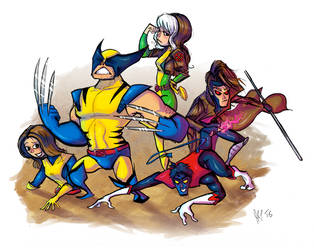 X-men by Riverd