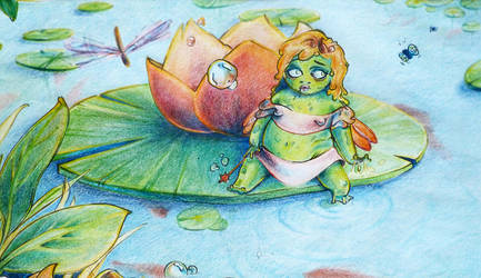 Oh lovely toad faerie... by sounchy
