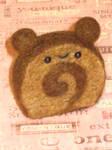 Chocolate Cake Roll Bear OuO by xxNostalgic