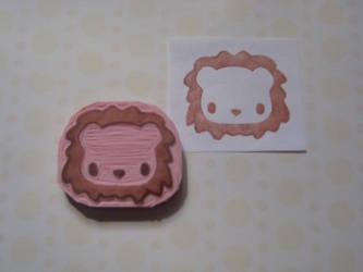 Lion Stamp by xxNostalgic