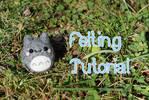 Totoro Inspired Felting Tutorial by xxNostalgic