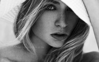 summer freckles. by CarolineZenker