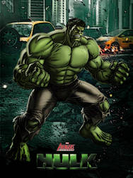 Hulk - Marvel Avengers Alliance poster by P-DB