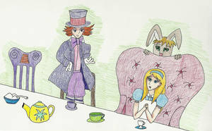 Mad Hatter's Tea Party by bebesdupoire