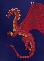 red dragon contest entry by bebesdupoire
