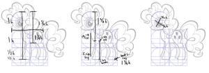 MLP FiM G4 Body Measurements by Nimaru