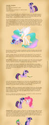 Luna's Studies - Twilight by Nimaru