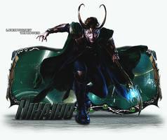 Sign Modelada - Loki by thiagoarantes20