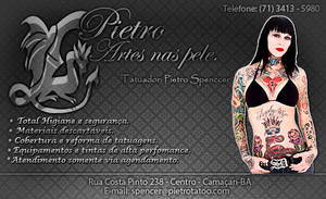 Carta de visita Pietro Tatoo by thiagoarantes20