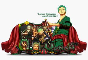 Sign Zoro One Piece by thiagoarantes20