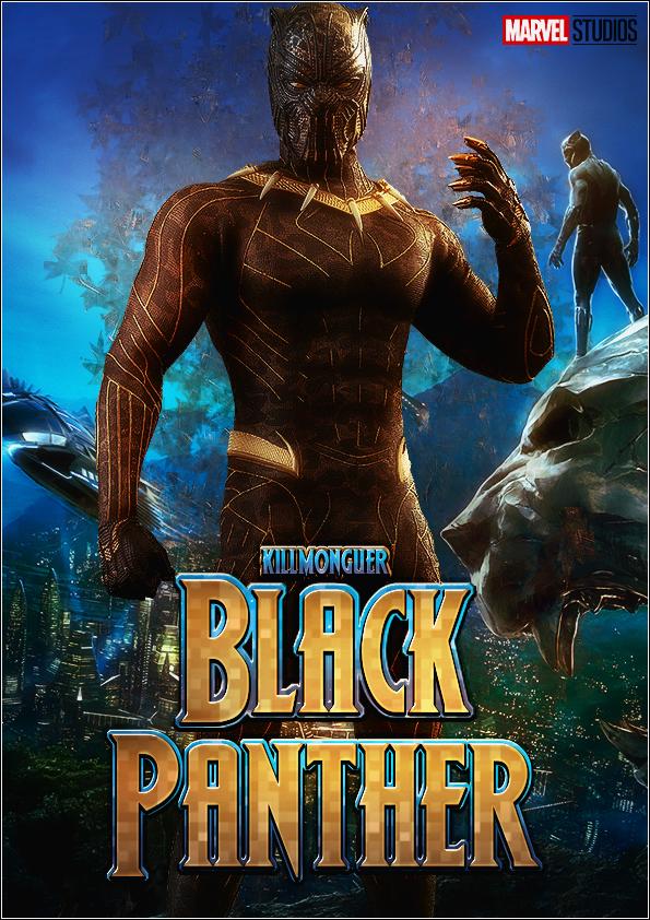 Black Panther Erik Killmonguer by thiagoarantes20