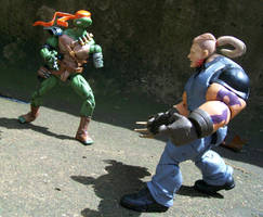 Mikey vs Hun by Jarred706