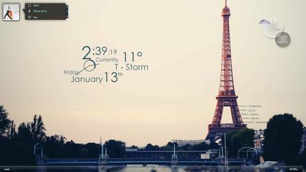 M7md's Eiffel Tower 1 by M7mdA7md7sein
