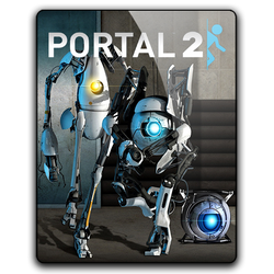 Portal 2 Icon by M7mdA7md7sein