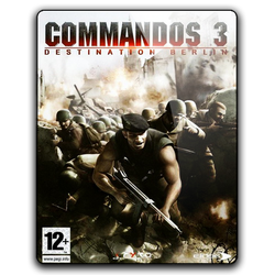 Commandos 3 Icon by M7mdA7md7sein