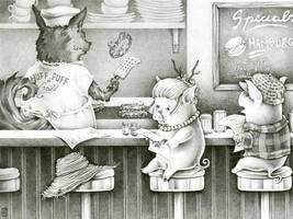Huff n' Puff Grill by Kayla-Noel
