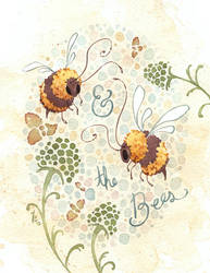 and the Bees by Kayla-Noel