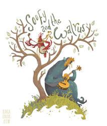 Soofy And The Walrus by Kayla-Noel