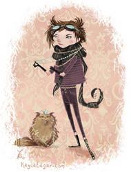 Cat Girl by Kayla-Noel