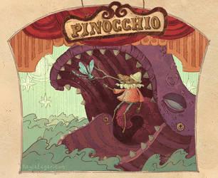 Pinocchio by Kayla-Noel
