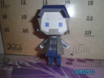Bobby Singer Papercraft 1 - Front by princess6590