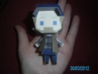 Bobby Singer Papercraft 4 - In Hand by princess6590