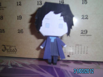 Sherlock Holmes Papercraft - 1 Front by princess6590