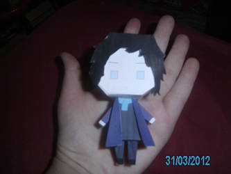 Sherlock Holmes Papercraft - 4 - In Hand by princess6590