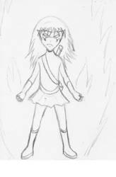 Power girl by GabyGirl1243