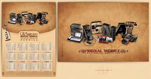 Signal Mobile Calendar by NAVIDRAHIMIRAD