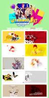 JunHyung Birthday pack PSD tut by wish1506