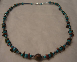 Turquoise Choker by Shinigami20