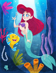 The Little Mermaid by Kimi-mo