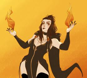 Ximora Meta 5 - Fire by LaudyLau