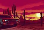 Desert cactus by Furedo
