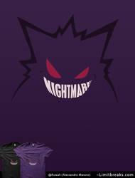 Nightmare [Gengar Minimal, Pokemon] by Ruwah