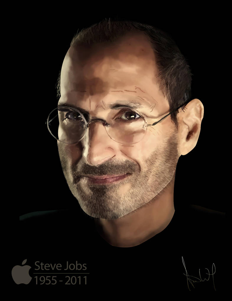 Steve Jobs by TimWitherow