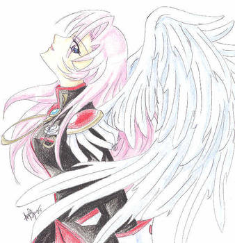 utena with wings by utenafangirl