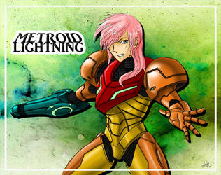 Metroid Lightning by utenafangirl