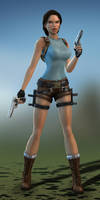 Anniversary Lara HD Release by SKing-TRF